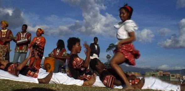Afro-Colombian music and dance from Aires Del Pacifico
