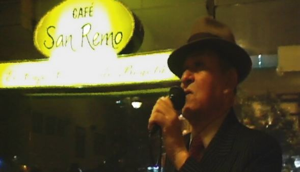 Oscar Ferreira sings Tango music