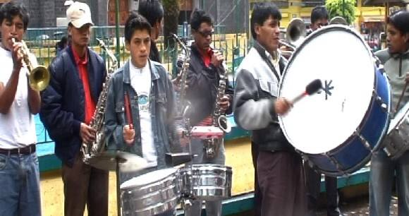 los musicos de la banda san miguel