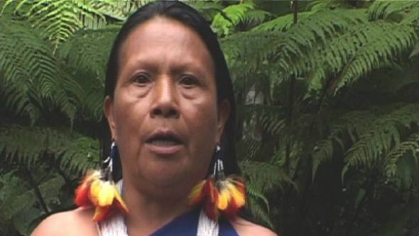Rosa Eulalia Mashumar Inchis of the Shuar tribe