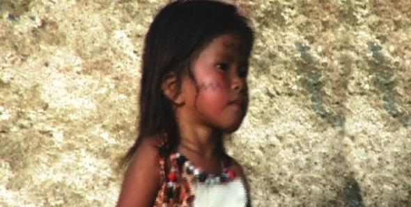 Girl from the Quichiua tribe